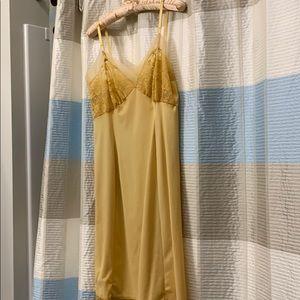 Van Roalte  vintage goldenrod slip